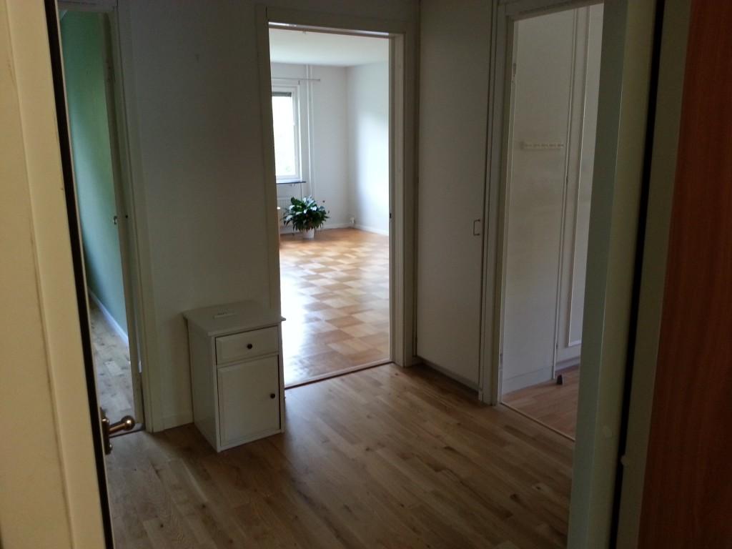 Hej då, lägenheten...