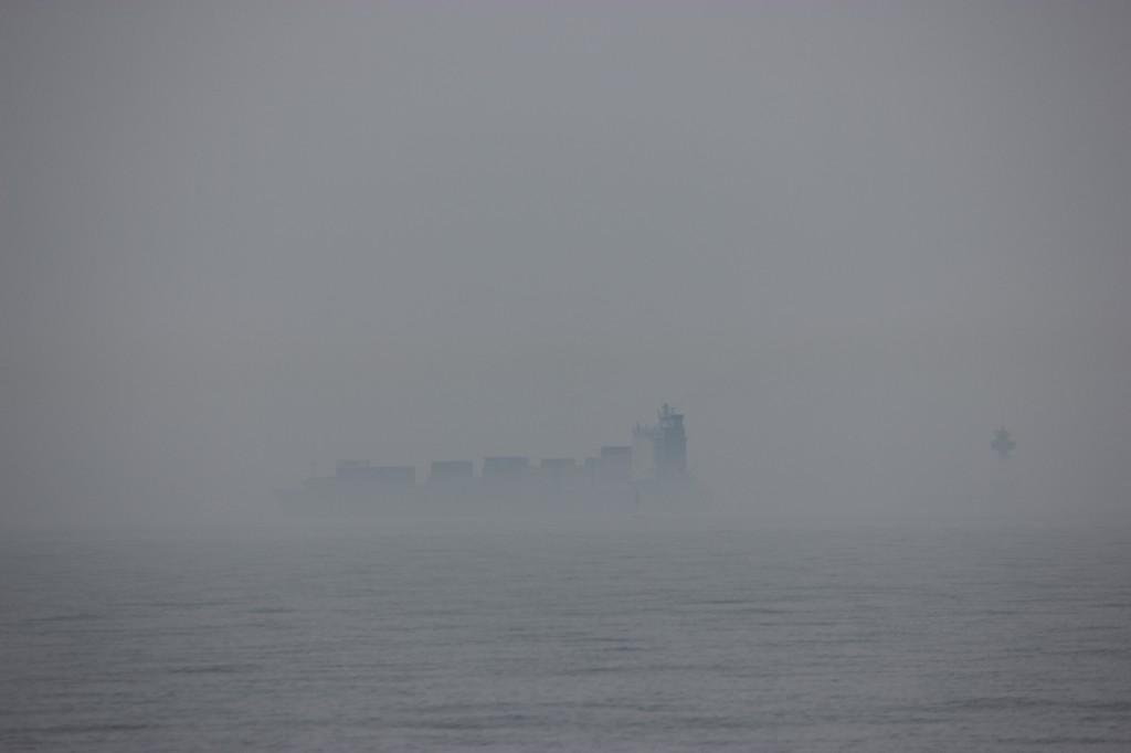 Disigt vid inloppet till Kiel