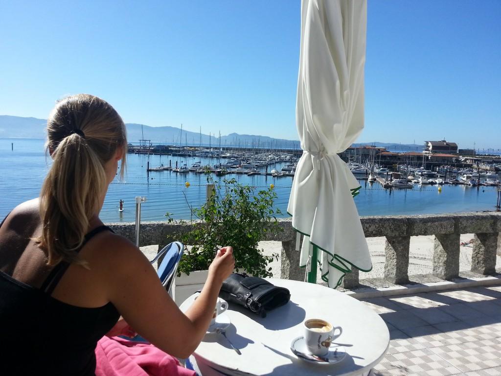 Billigt och gott kaffe med fantastisk utsikt