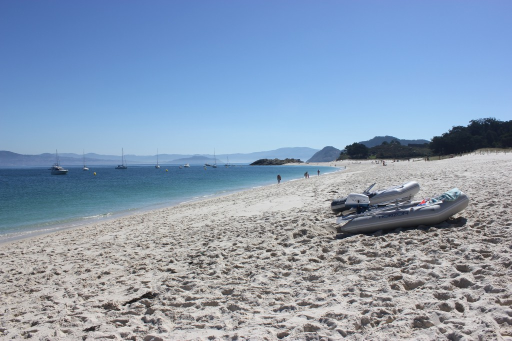 Paradisstranden på Islas Cies