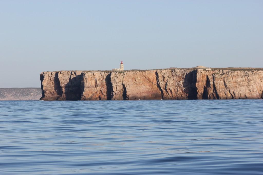 Algarvekustens branta klippor.
