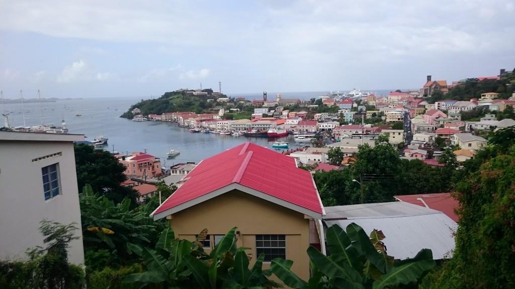 Grenadas huvudstad St Georges.