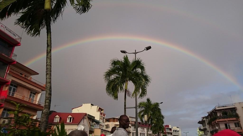 Karnevalsväder i Karibien.