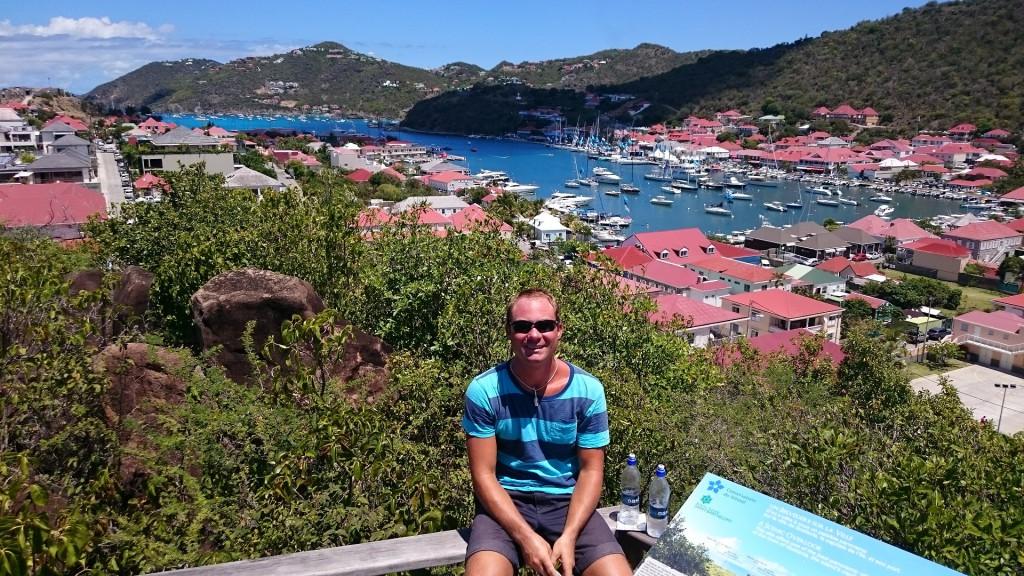 Utsikt över Gustavia.