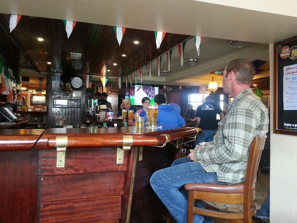 Lokalare pub får man leta efter.
