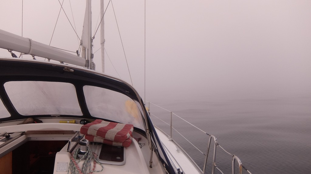 Tjock dimma. Saknar radar...