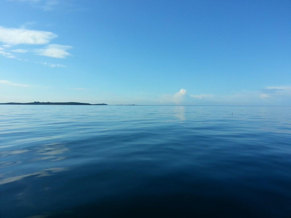 Irländska sjön när den är som bäst.
