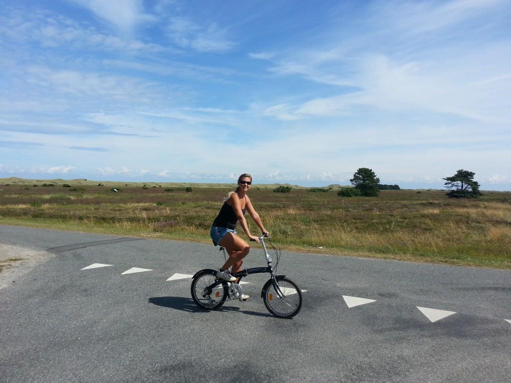 Skönt att Danmark är platt när cykelmusklerna ska återskapas.