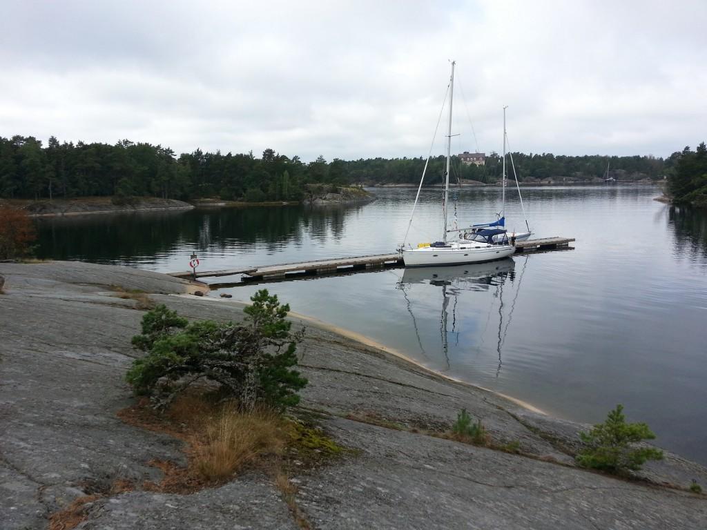 Lugnet på Söder Långholm.