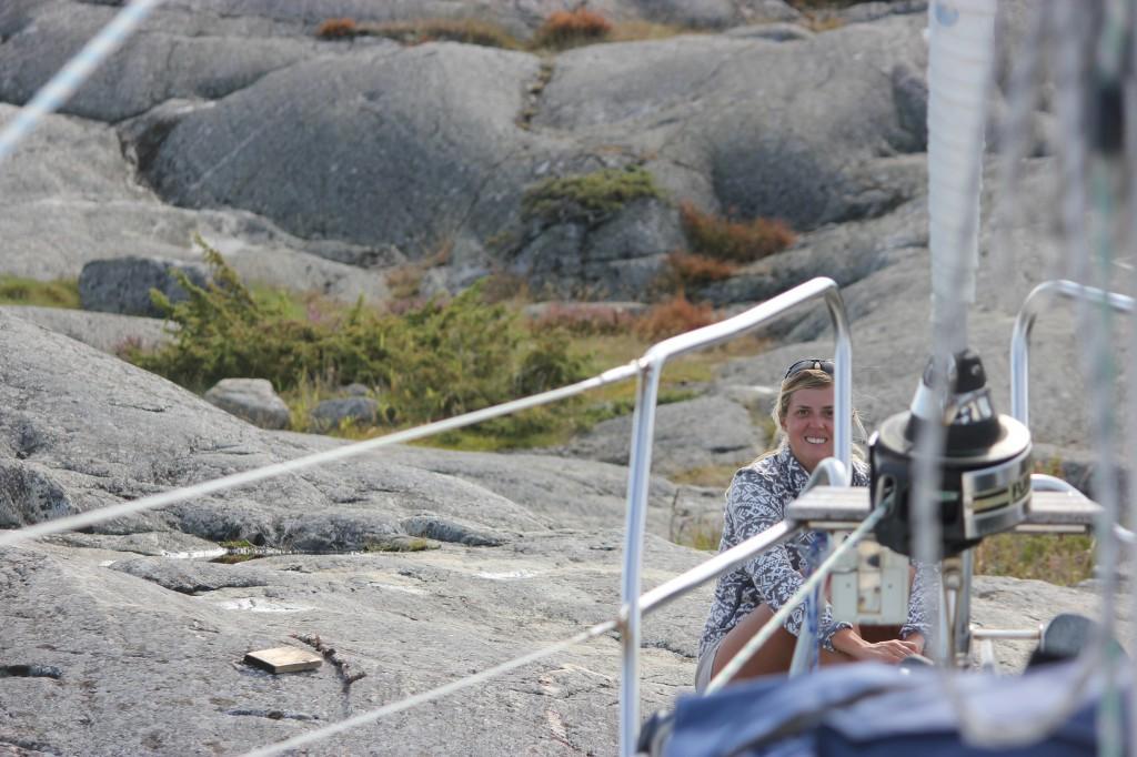 Vackra klippor på Gubben.